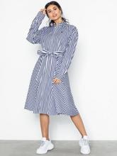 Polo Ralph Lauren Ls Ela Sd-Long Sleeve-Casual Dress Navy