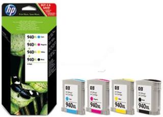HP HP 940XL 4 stk blækpatroner sort/cyan/magenta/gul