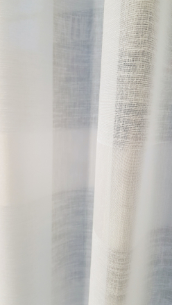 Polku valmisverho, white, 140x250cm
