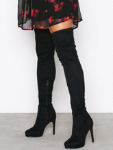 NLY Shoes Platform Over Knee Boot