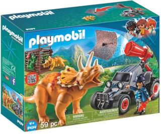 Playmobil9434 Jeep med Dinosaurusnät