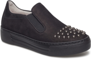 Sporty Loafer Lave Sneakers Svart GABOR