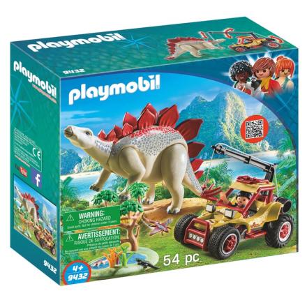 9432 Forskermobil med Stegosaurus - Lekmer
