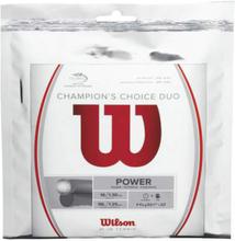 Wilson Champions Choice Duo, Silber Saitenset 12,2m 1.30