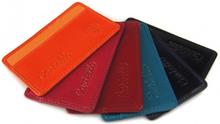 1aef2aa050a8d Skórzane etui na kartę kredytową z ID Protect System W903