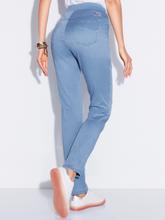 Comfort Plus-broek model Carina Van Raphaela by Brax blauw