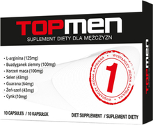 Top Men - 10 kapslar-Potensmedel
