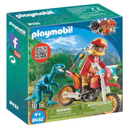 9431 Motocross-cykel med Raptor - Lekmer