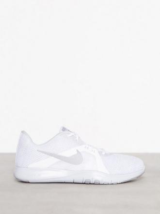 Treningssko - Sølv/Hvit Nike Flex Trainer 8