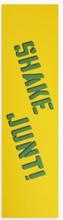 Shake Junt - Yellow Green Griptape