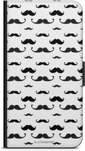 iPhone 4/4s Plånboksfodral - Mustascher