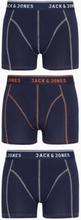 Jack & Jones Jacmatt Trunks 3 Pack Noos Boxershorts Mørk blå