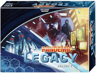 Pandemic Legacy Blue Season 1 - Brädspel