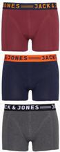 Jack & Jones Jaclichfield Trunks 3 Pack Noos Boxershorts Mørk lilla
