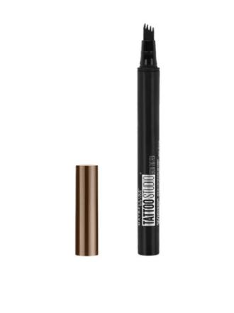 Øyenbryn - Medium Brown Maybelline New York Tattoo Brow Micro-Pen Tint