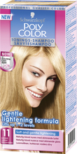 Schwarzkopf Poly Color Tonings-Shampoo, 11 - Ljusblond, 11 Ljusblond Schwarzkopf Toning