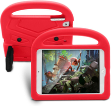 iPad Mini 1/2/3/4/(2019) Børne cover - Sparrow Kickstand Cover - Rød