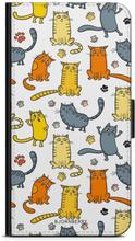 Xiaomi Pocophone F1 Plånboksfodral - Kattmönster