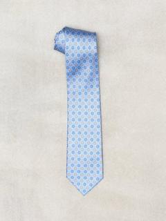 Amanda Christensen Printed Half Bottle Tie Slips & sløyfer Sky Blue