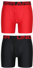 Under Armour Tech 6IN 2 Pack Bokserit Punainen