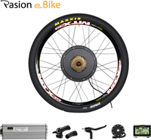 Pasion eBIKE Conversion Kit 26 in Electric Bicycle Conversion Kit 48V 1500W Rear Hub Motor Wheel