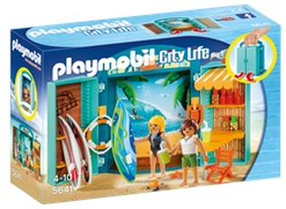 5641 Playmobil Surfer Shop legeboks