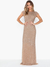 Maya Flutter Sleeve Sequin Maxi Dress Maxiklänningar