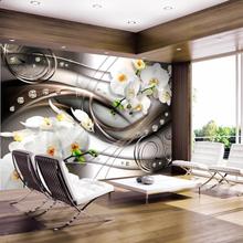 Fototapet - Breeze and orchid (350 x 245 cm)