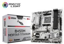 MSI B450M MORTAR TITANIUM mATX