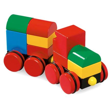 BRIO® Baby - 30124 Magnettog klassiske farver - Lekmer