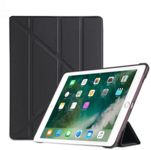 INF iPad-deksel 9,7 tommers smart dekselveske og stativ - svart