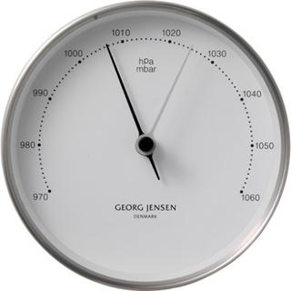 Georg Jensen Henning Koppel Barometer 10cm Stål/Vit