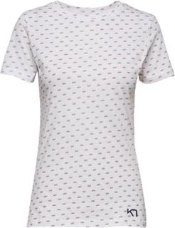 Traa Tee T-shirt Top Hvid Kari Traa