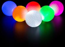 Tech of sweden Strålende golfballer, 3-pakke