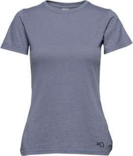 Traa Tee T-shirt Top Blå Kari Traa