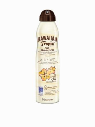 Hawaiian Tropic Silk Hydration Air Soft Spray SPF 30 180 ml Läpinäkyvä