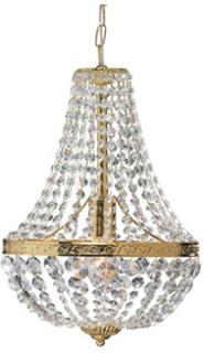 Markslöjd Hanaskog Taklampa 1 Ljus Guld Markslöjd