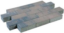 Pflastersteine beton braun