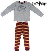Pyjamas Barn Harry Potter 74818 Grå Röd (Storlek: 14 år)
