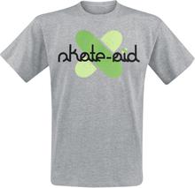 Skate Aid - Cross Logo -T-skjorte - gråmelert