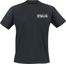 Bring Me The Horizon - Stacked Logo -T-skjorte - svart
