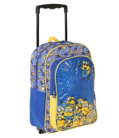 Minions Håndlangere Rejsetaske Trolley rygsæk 41 x 31 x 15 cm - Fruugo