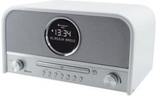 Soundmaster Radio CD Bluetooth USB Klocka