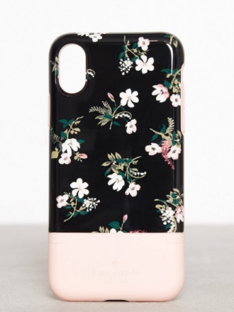 Mobildeksel - Svartmønstret Kate Spade New York Flora Credit Card Case - X