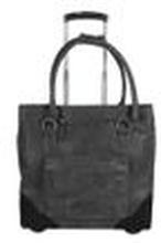 Fritzi aus Preußen Damen Reisetasche auf Rollen Trixie Handgepäck schwarz