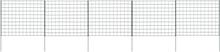 vidaXL Staket till damm 77,5x64 cm grön