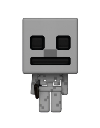 Minecraft pop! Vinyl figur 319 skelet lavet af plastik, Funko, i ga... - Fruugo