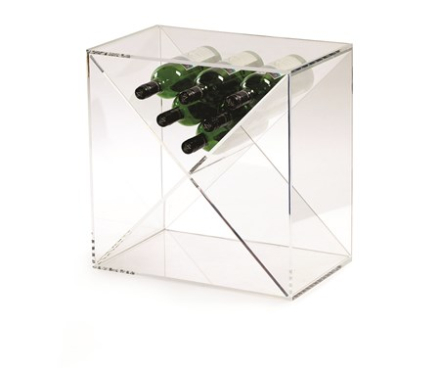 Traditional Wine Racks Wine Cube 24 flaskor Akryl