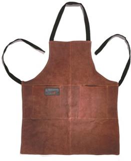 Outset Grillförkläde i läder (one size)