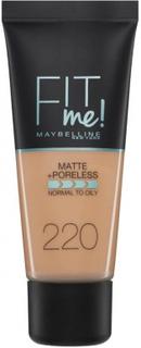 Maybelline Fit Me Matte & Poreless Foundation 220 Natural Beige 30 ml
